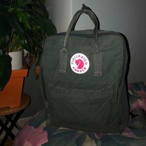 Kanken backpack in forest green
